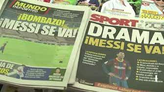 Vorschaubild für Barca-Fans am Tag nach dem Messi-Abschied