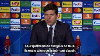 """Image d'aperçu pour Groupe A - Pochettino : """"Le talent de Mbappé et Messi saute aux yeux de tous"""""""