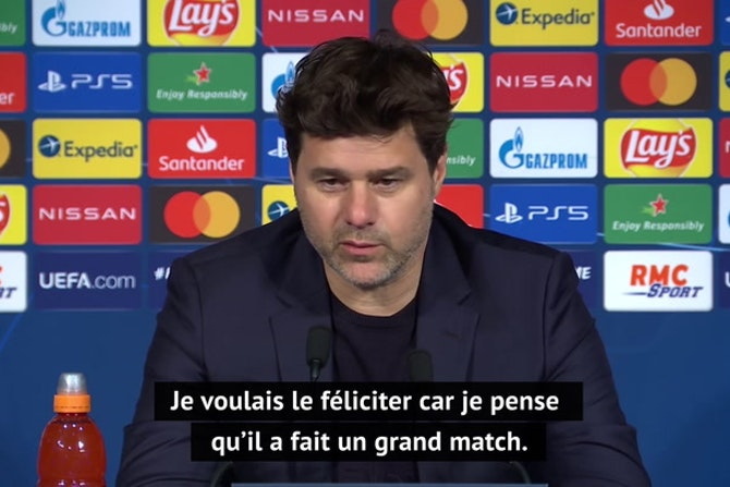 "Quarts - Pochettino à Gueye : ""Tu as été une machine"""