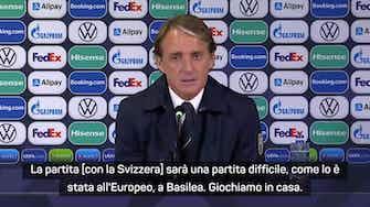 """Anteprima immagine per  Mancini: """"Con la Svizzera sarà la partita dell'anno. Su Locatelli..."""""""