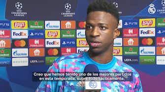 Imagen de vista previa para Vinicius Jr.: 'Me gusta jugar así, con presión y en el mejor equipo del mundo'