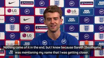 Preview image for I'd not even considered England call-up happening - Bamford