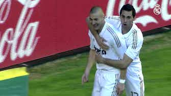 Preview image for Karim Benzema's great goals against Osasuna