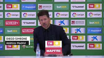 """Imagen de vista previa para Simeone, en titulares: """"Cada victoria es importantísima"""""""