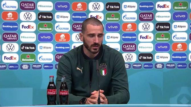 """Anteprima immagine per Bonucci: """"Simulazione Immobile? Guarito dopo il gol..."""""""