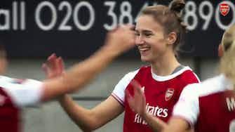 Vorschaubild für The stats behind Vivianne Miedema's 100 Arsenal goals