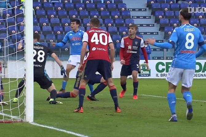 Los goles de Lozano en la Serie A 20/21