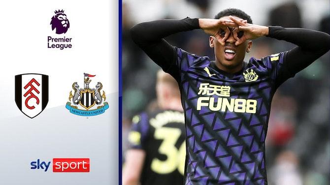 Willock setzt Treffer-Serie fort | Highlights: FC Fulham - Newcastle United 0:2