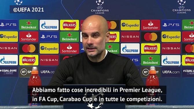 """Guardiola: """"Non siamo in finale grazie ai soldi"""""""
