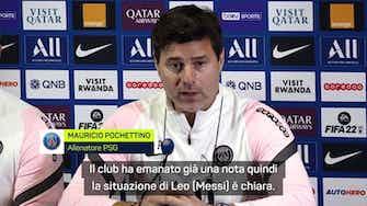 """Anteprima immagine per Caso Messi, Pochettino chiarisce: """"Sostituito per il suo bene"""""""