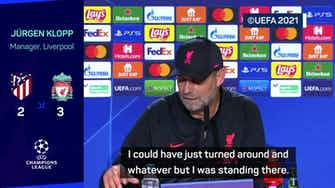Preview image for Klopp and Simeone's war of words continue after handshake snub