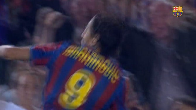 Zlatan Ibrahimovic's Top 3 goals in LaLiga