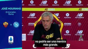 """Imagen de vista previa para Mourinho: """"Alguno ríe con los bolsillos llenos de dinero"""""""