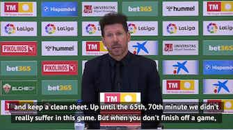 Preview image for Simeone praises Atletico 'mental strength' as they beat Elche