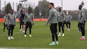 Imagem de visualização para Após lesão, Marcus Thuram volta a treinar no Borussia M'Gladbach