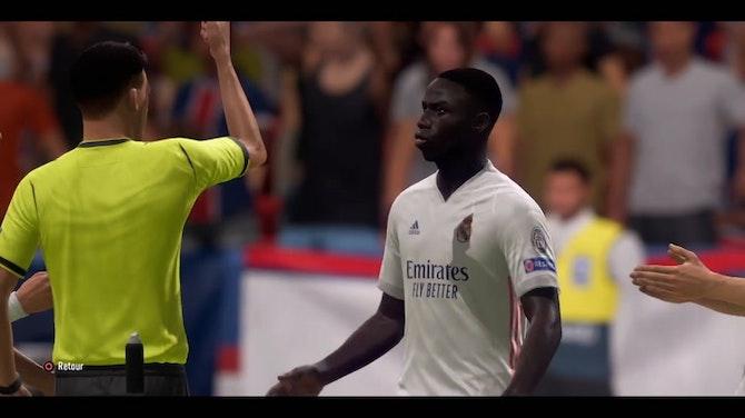 Image d'aperçu pour Le premier match de Ramos et Hakimi au PSG (FIFA)