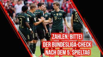 Vorschaubild für Zahlen, bitte! Der Bundesliga-Check nach dem 5.Spieltag