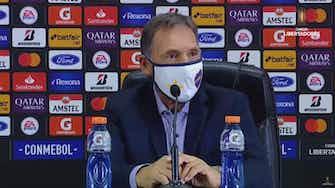Imagen de vista previa para Russo analiza la victoria por 2-0 sobre el Santos