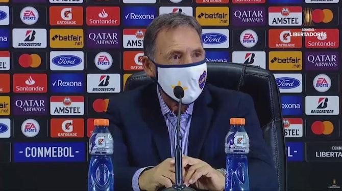 Russo analiza la victoria por 2-0 sobre el Santos