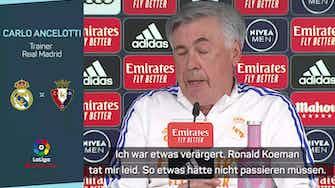 """Vorschaubild für Ancelotti zu Fan-Attacken: """"Koeman tat mir leid"""""""