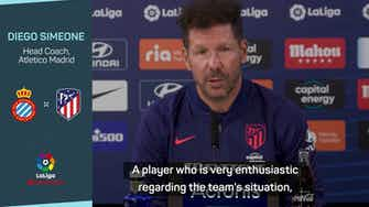 Preview image for Griezmann wanted Atleti return 'so badly' - Simeone