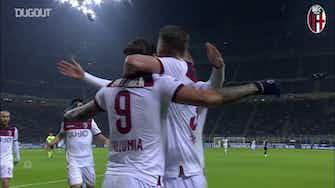 Anteprima immagine per Federico Santander porta il Bologna alla vittoria contro l'Inter