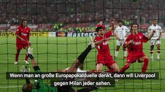 """Vorschaubild für Klopp: """"Liverpool gegen Milan will jeder sehen"""""""