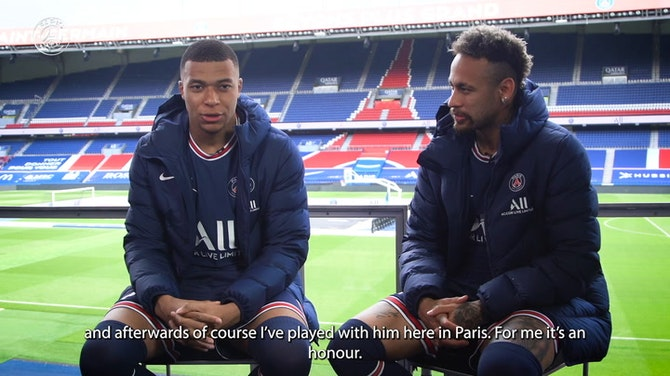 Preview image for Discover the double interview with Neymar and Mbappé