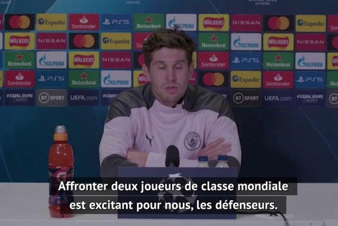 """Demies - Stones : """"Affronter Neymar et Mbappé, c'est excitant pour nous les défenseurs"""""""