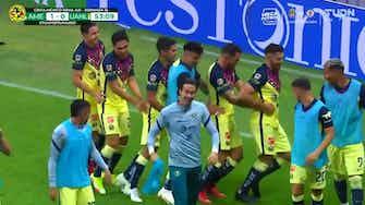 Imagen de vista previa para El gol de Henry Martín y el festejo con baile ante Tigres