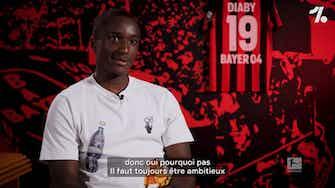 Image d'aperçu pour Moussa Diaby sur les ambitions du Bayer Leverkusen