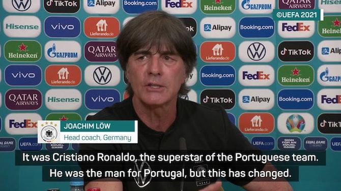 Low jokes Ronaldo can 'do more than put away Coca-Cola'