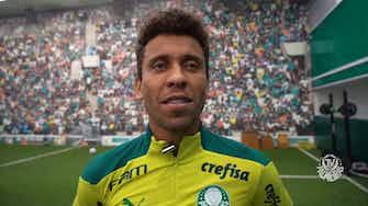 Imagem de visualização para Marcos Rocha quer que Palmeiras mantenha o alto nível de olho na Libertadores
