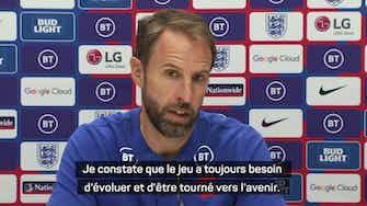Image d'aperçu pour Angleterre - Southgate pas contre une Coupe du monde tous les 2 ans
