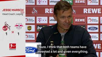 Preview image for 'It was a crazy game' - Marsch after more dropped points for Leipzig