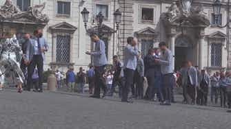 Preview image for Italy flaunt Euro 2020 trophy on homecoming