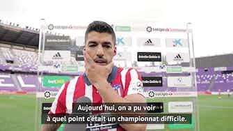 """Image d'aperçu pour 38e j. - Suárez : """"Nous méritons d'être champions"""""""