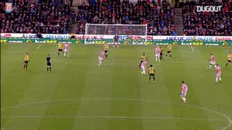 Preview image for Joselu finishes from outside the box against Norwich