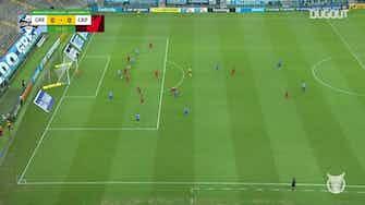 Image d'aperçu pour L'arrêt magnifique de Santos contre Grêmio