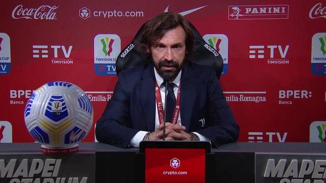 """Pirlo: """"Juve ritrovata, Chiesa e Kulusevski sono il futuro"""""""
