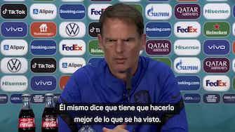 """Imagen de vista previa para De Boer, sobre el fichaje de Depay por el Barcelona: """"Es un alivio"""""""