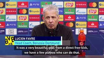 Preview image for Favre delighted with Sancho after Dortmund beat Brugge