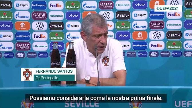 """Anteprima immagine per Santos: """"Quella con il Belgio è una finale"""""""