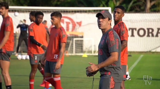 Flamengo complete the first training session ahead of Coritiba clash