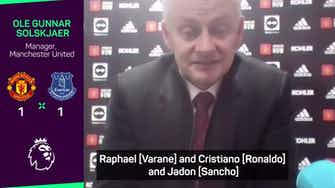 """Preview image for Solskjaer """"confident"""" he will get the best out of United squad"""