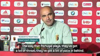 Preview image for No special plan to contain Ronaldo, insists Martinez