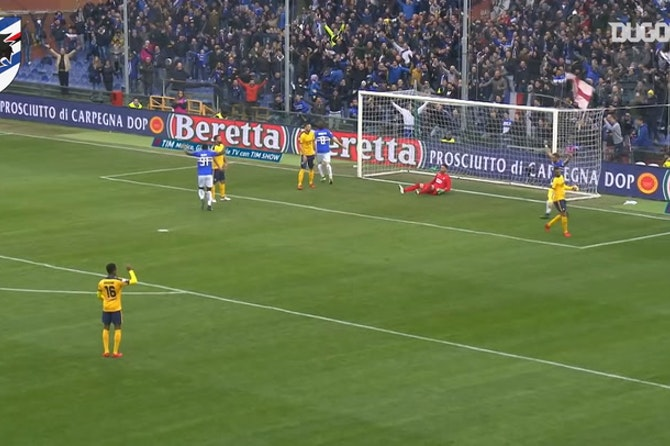 Sampdoria's best home goals vs Hellas Verona
