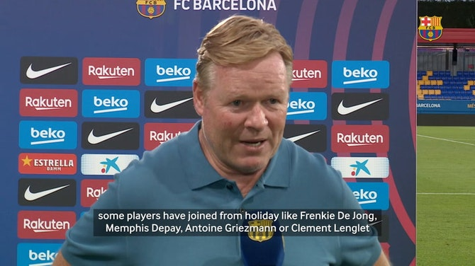 Preview image for Ronald Koeman: 'It was a good physical test'