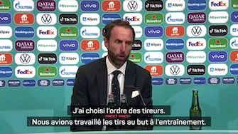 """Image d'aperçu pour Finale - Un mauvais choix de tireurs pour l'Angleterre : """"C'est ma décision"""", assume Southgate"""