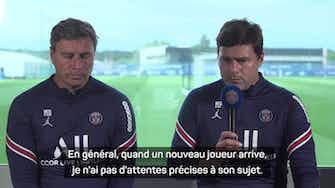 """Image d'aperçu pour PSG - Pochettino : """"Messi va s'adapter sans problème à la Ligue 1"""""""